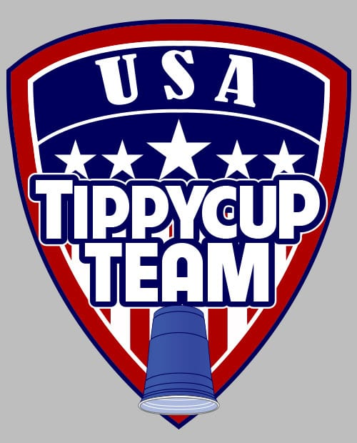 USA Tippycup Team Graphic T-Shirt main vector design