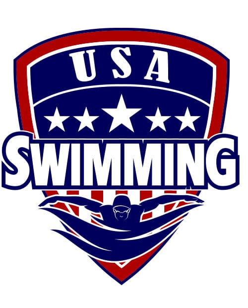 USA Swimming Team Graphic T-Shirt main vector design