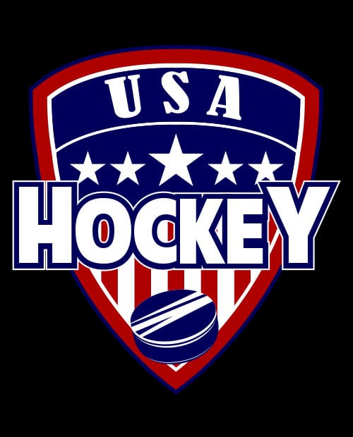 USA Hockey Team Graphic T-Shirt main vector design