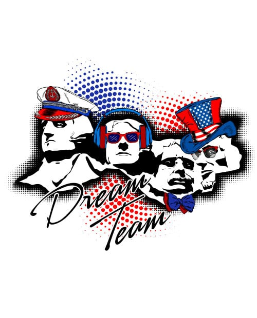 Dream Team Graphic T-Shirt main vector design