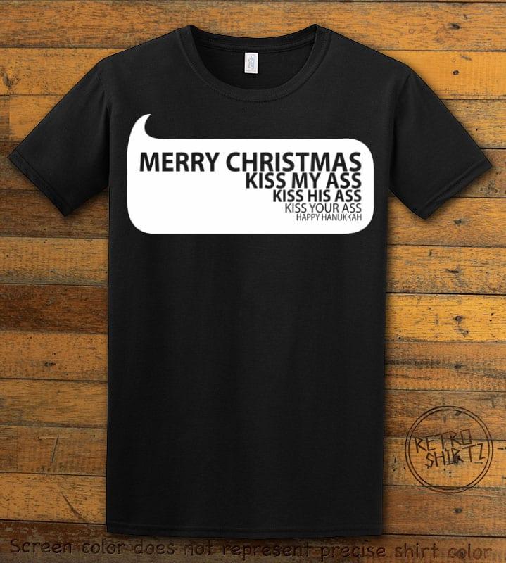 Speech Bubble Graphic T-Shirt - black shirt design
