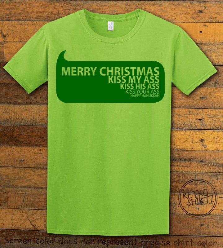 Speech Bubble Graphic T-Shirt - lime shirt design