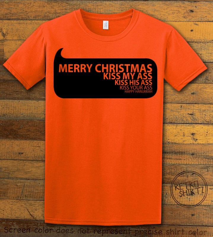 Speech Bubble Graphic T-Shirt - orange shirt design