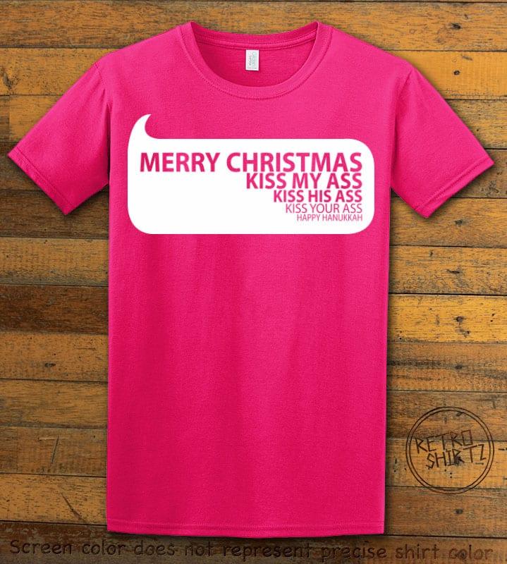 Speech Bubble Graphic T-Shirt - pink shirt design