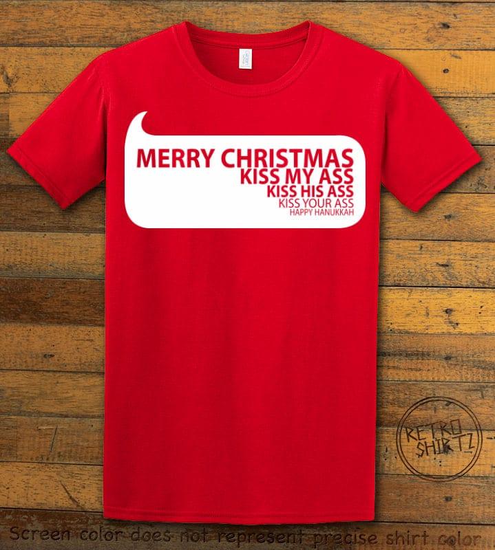 Speech Bubble Graphic T-Shirt - red shirt design