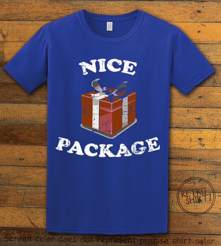 Nice Package Christmas T Shirt - royal shirt design