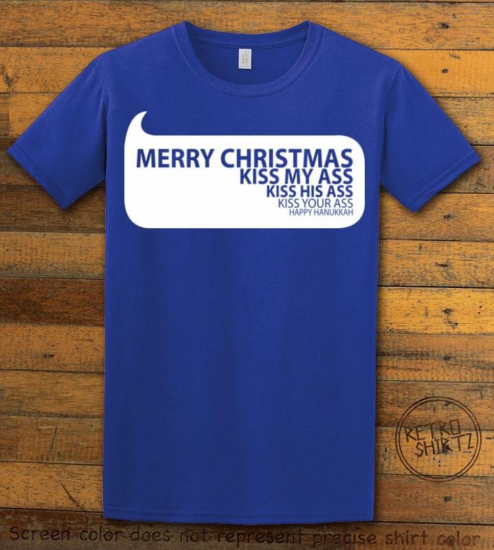 Speech Bubble Graphic T-Shirt - royal shirt design