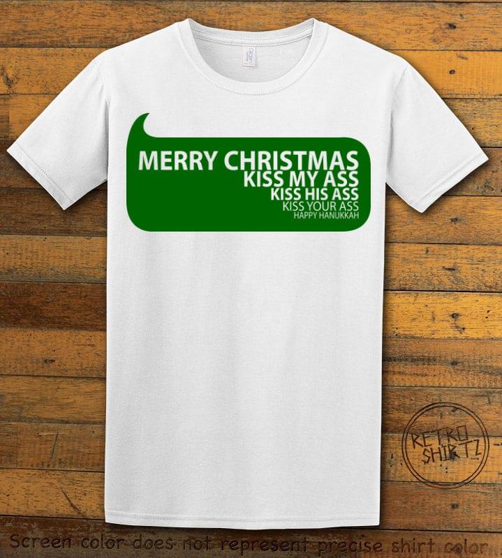 Speech Bubble Graphic T-Shirt - white shirt design