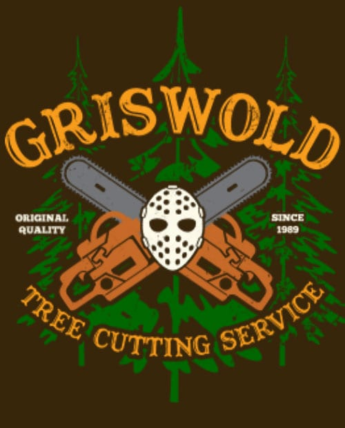 Griswold Tree Cutting Service Graphic T-Shirt main vector design