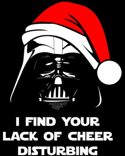 I find your lack of cheer disturbing Graphic T-Shirt main vector design