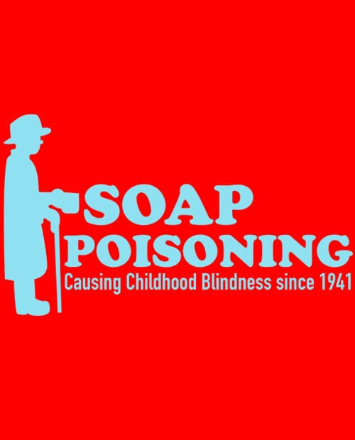 Soap Poisoning Graphic T-Shirt - main vector design