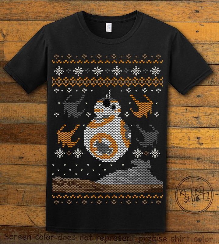 BB8 Graphic T-Shirt - black shirt design