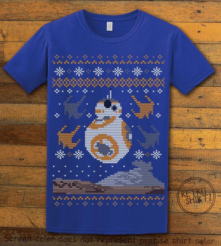 BB8 Graphic T-Shirt - royal shirt design