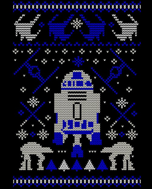 R2D2 Graphic T-Shirt - main vector design
