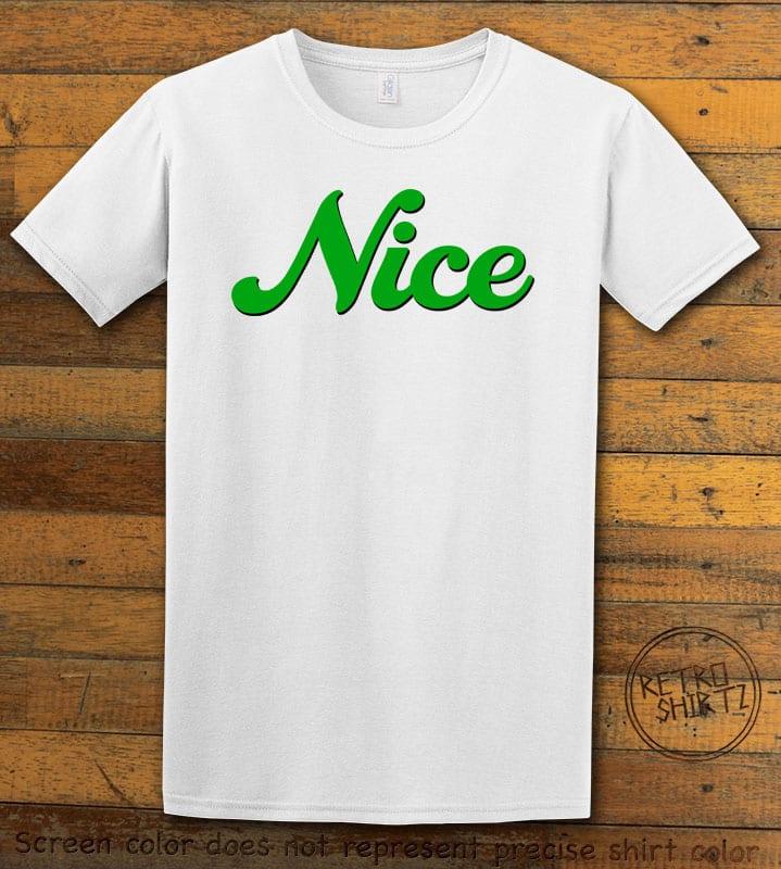 Nice Graphic T-Shirt - white shirt design