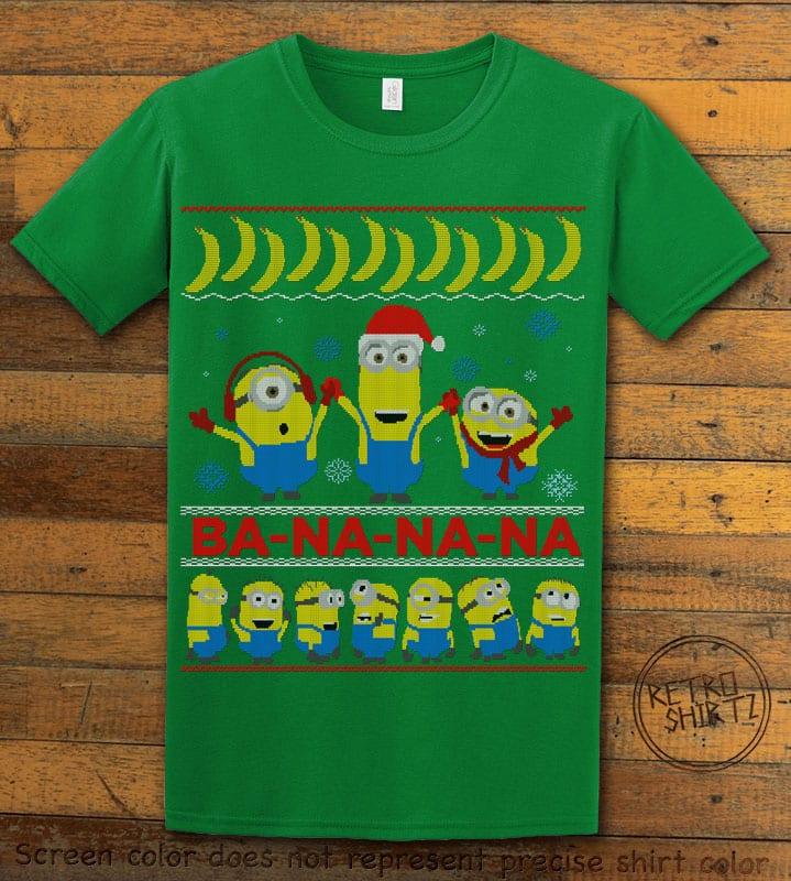 Ba - Na - Na - Na Graphic T-Shirt - green shirt design