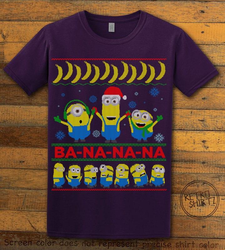 Ba - Na - Na - Na Graphic T-Shirt - purple shirt design