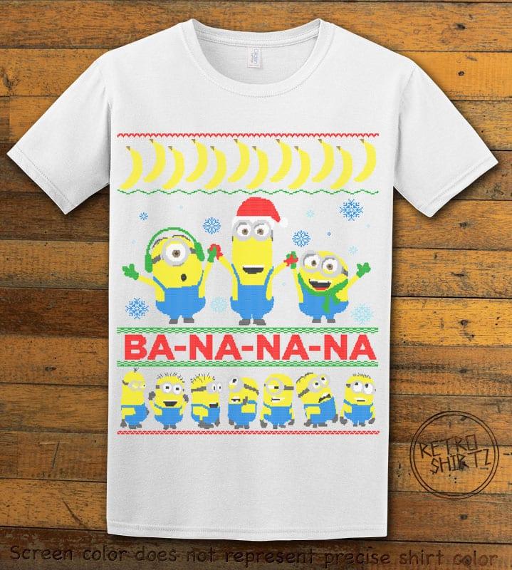 Ba - Na - Na - Na Graphic T-Shirt - white shirt design