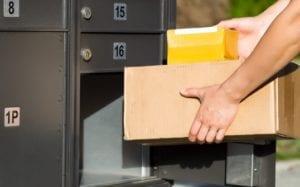 packing box mail