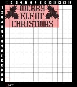 merry elfin christmas vector