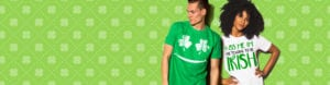 This the banner for the exclusive St Patricks Day Shirts