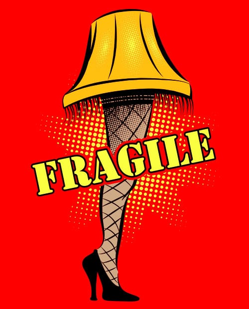 Fragile Graphic T-Shirt main vector design