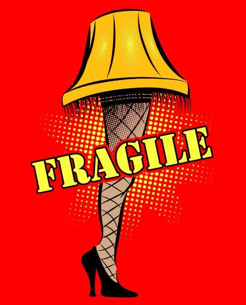 Fragile Graphic T-Shirt main vector design