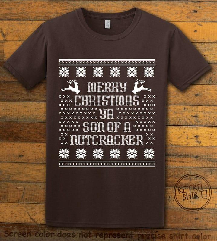 Son Of A Nutcracker! Graphic T-Shirt - brown shirt design