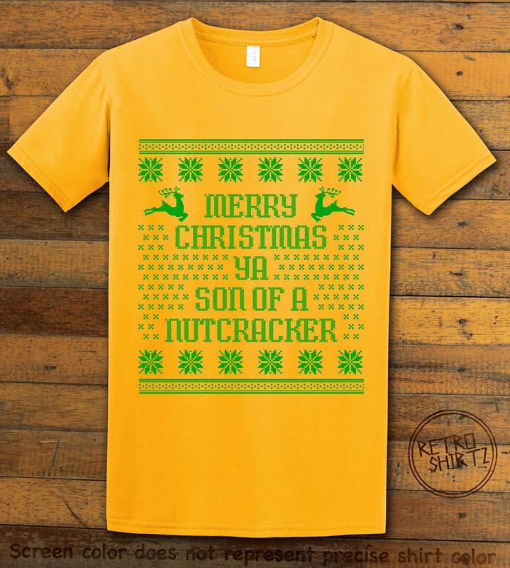 Son Of A Nutcracker! Graphic T-Shirt - yellow shirt design