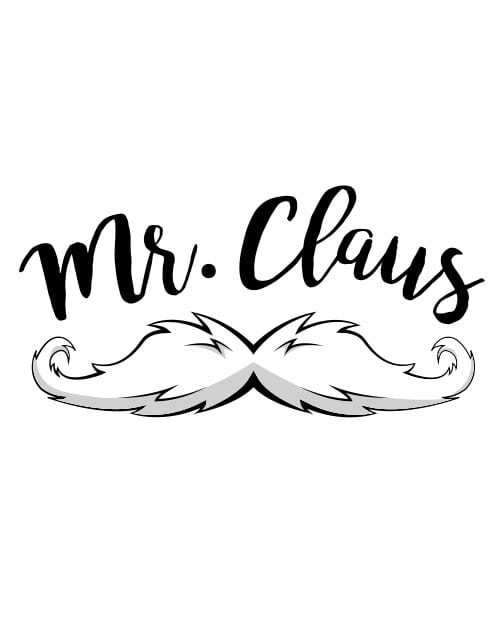 Mr. Claus Graphic T-Shirt main vector design