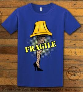 Fragile Graphic T-Shirt - royal shirt design