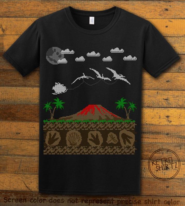 Santa Before Reindeer Graphic T-Shirt - black shirt design