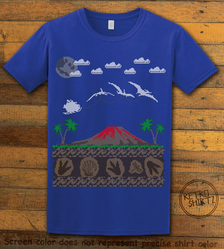 Santa Before Reindeer Graphic T-Shirt - royal shirt design