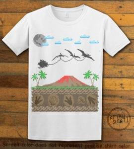 Santa Before Reindeer Graphic T-Shirt - white shirt design