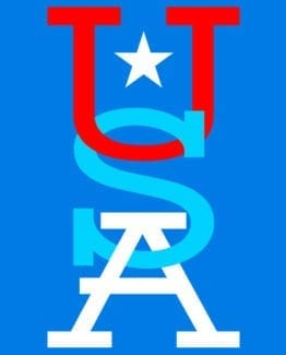 This is the main graphic design for: USA Vertical