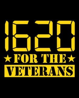 This is the main graphic design for the Weed Shirt: 1620 Veterans