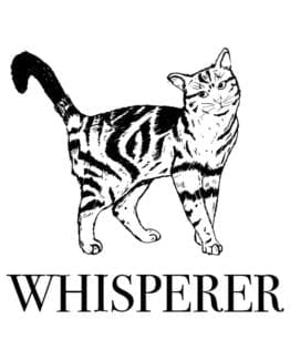 This is the main graphic design for the Pride Shirts: Pussy Whisperer